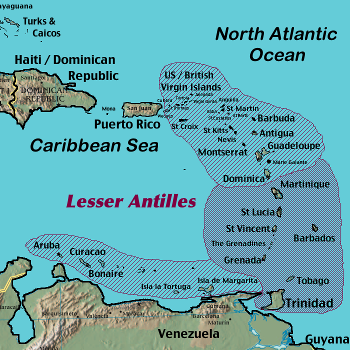 map of netherlands antilles islands with List on North America besides File Lesser Antilles named together with Powerpoint Map Of France And Its Territories moreover Index En moreover File lesser antilles named.