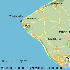 locations Westkapelle in Zeeland the Netherlands
